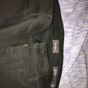 J. Jill Black Denim Jeans Size 6p
